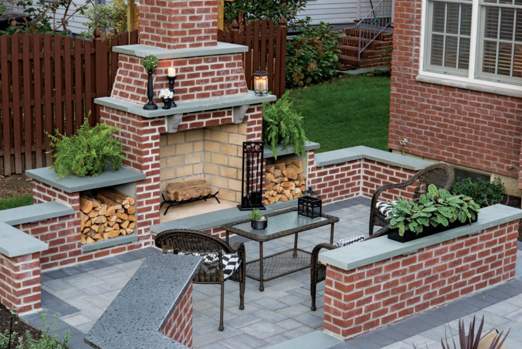 Outdoor Fireplace 2