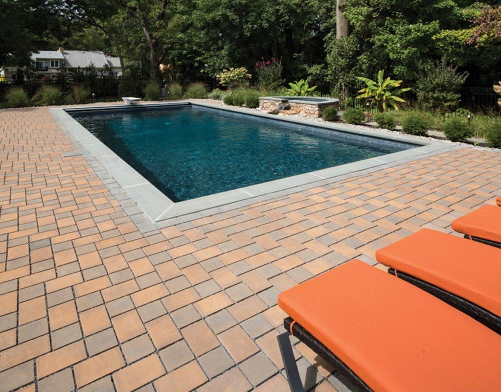 Permeable Paver Pool Deck