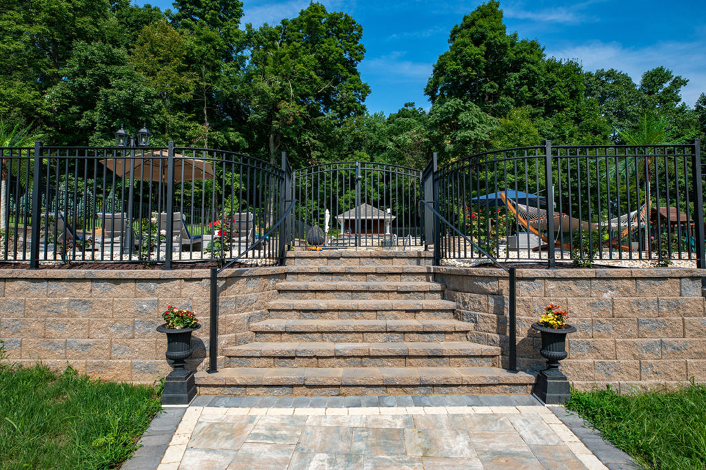 Paver Stairway