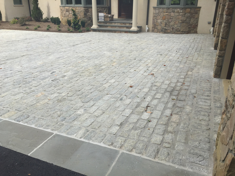 Granite Cobble Driveway 2