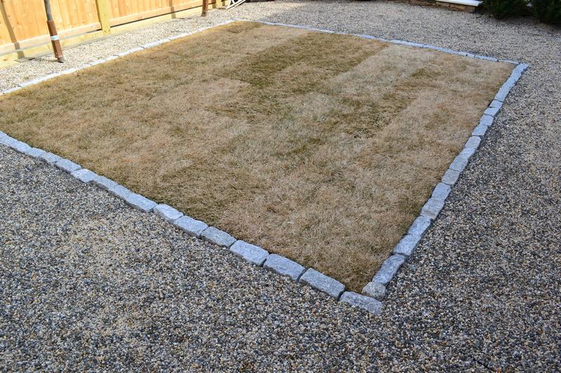 Granite Cobble Border 2
