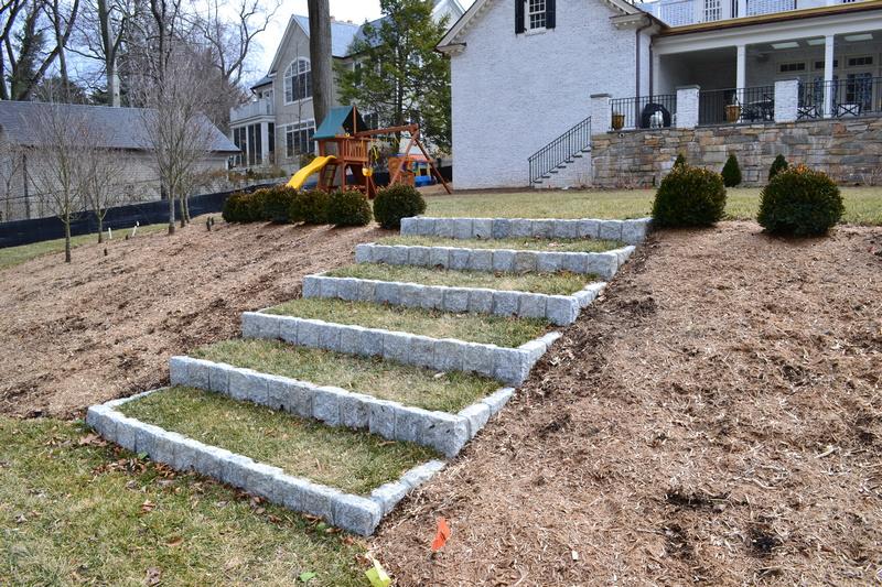Granite Cobble Steps
